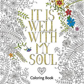 It is Well with My Soul Coloring Book by Zondervan - 9780310346692 Bo