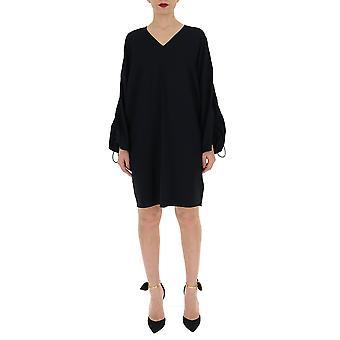 Maison Margiela Black Viscose Dress