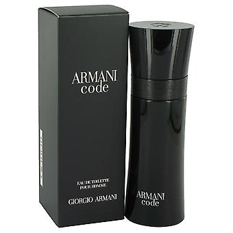 Armani Code by Giorgio Armani Eau De Toilette Spray 2.5 oz / 75 ml (Men)