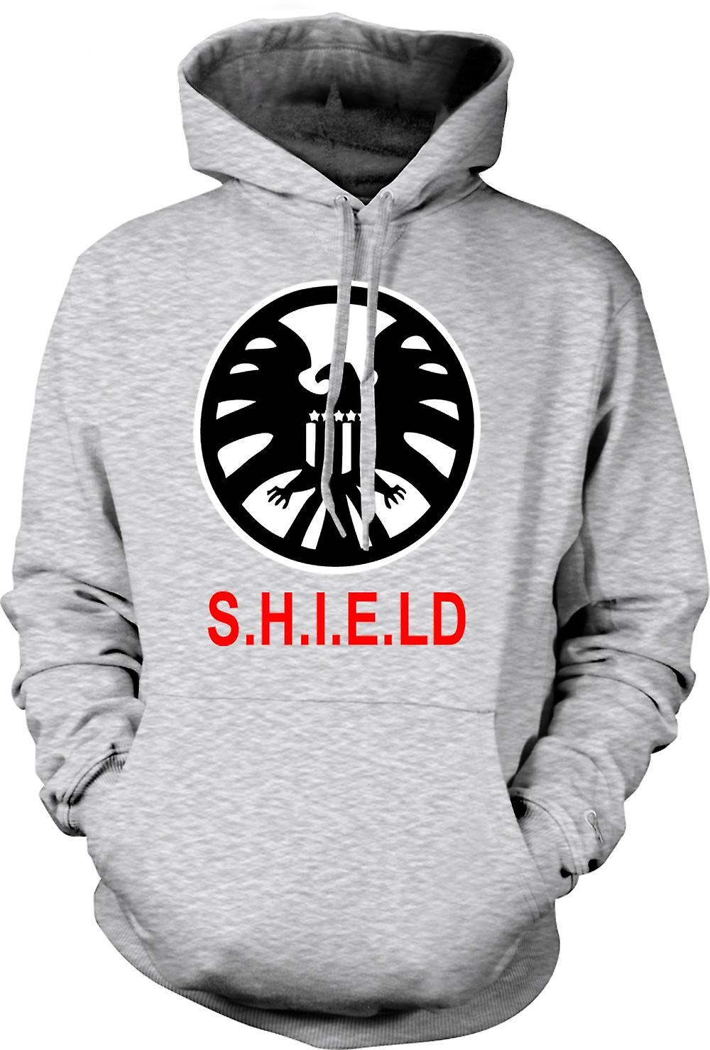 Para hombre con capucha - Escudo insignia de The Avengers