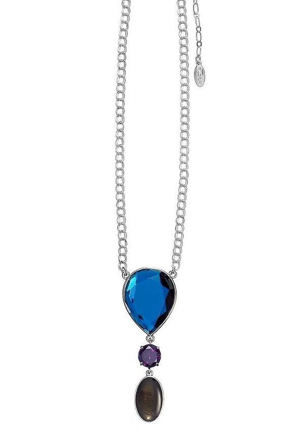 Pelgrim GoDiva Damenhalskette, blauw, paars/zilver (549221)