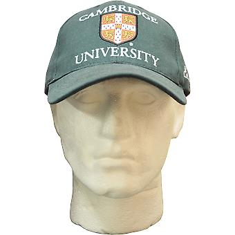 Licensed cambridge university™ baseball cap bottle green colour