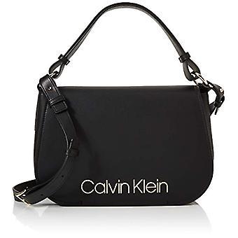 Calvin Klein Dressed Up Satchel - Black Women's Bucket Bags (Black) 1x1x1 cm (W x H L)