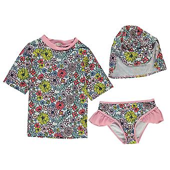 Crafted Essentials Kids YG 2PC Sunsf Childs Beach Swimsuit