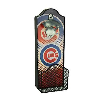 Chicago Cubs LED Lighted Bottle Opener With Cap Catcher