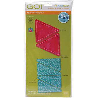 Go! Fabric Cutting Dies Triangles In Square 3