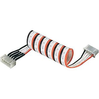 LiPo balancer cable extension Type (chargers): XH Type (rechargeable batteries): XH Suitable for (no. of batteries): 5