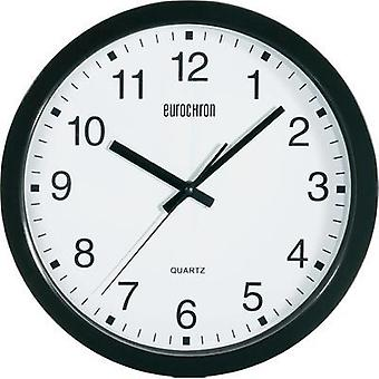 Quartz Wall clock Eurochron A3199 30.5 cm x 3.8 cm Black