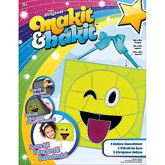 Makit & Bakit Deluxe Suncatcher Kit-Emoji Tongue 73621