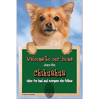 Scottish Collectables Chihuahua 3D Lead Hanger Wall Plaque