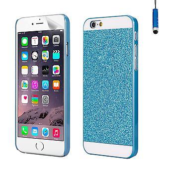 Glitter design case for Apple iPhone 6 6S - Blue