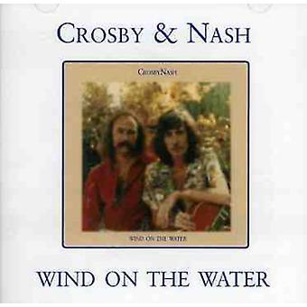 Crosby & Nash - vind på vand [CD] USA importerer