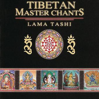 Lama Tashi - tibetansk Master Chants [CD] USA importerer