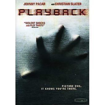 Playback [DVD] USA import