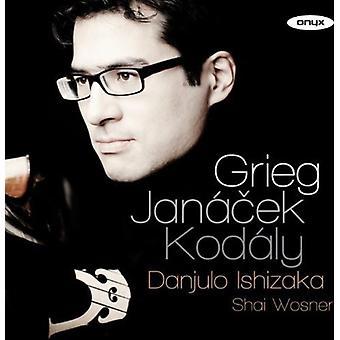 Janacek / Kodaly / Grieg / Ishizaka / Wosner - Prohadka Presto [CD] USA import
