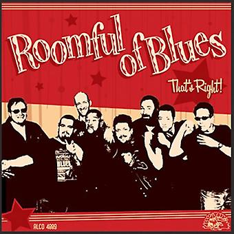 Roomful of Blues - That's Right! [CD] USA import