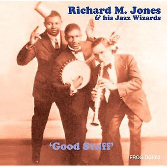 Jones, Richard M. & hans Jazz guider - gode ting [CD] USA importerer