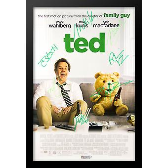 Ted - Signed Movie Poster