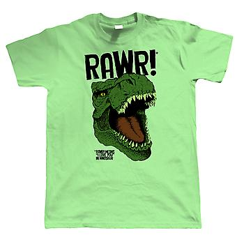 Vectorbomb, RAWR Mens Funny T Shirt (S to 5XL)