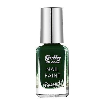 Barry M Barry M Gelly Hei skinne spikeren male svart pistasj