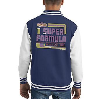 Haynes Super Formel Motoröl Kid Varsity Jacket