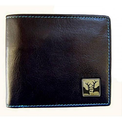 Tyler en Tyler leder Rutting Stags Bill Fold portemonnee - Black