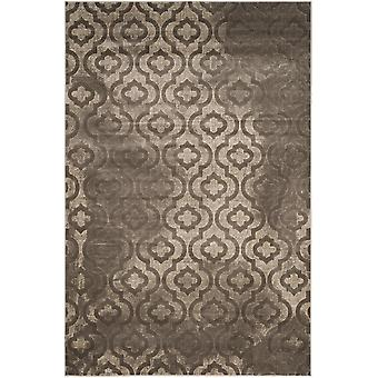 Short-pile woven rug living room indoor carpet grey indoor rugs - Pacific Evergreen grey 92 / 152 cm - rug for the living room inside