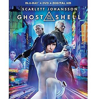 Geist in der Shell [Blu-Ray] USA import