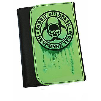 Zombie Outbreak Response   Bifold Simulated Leather Wallet