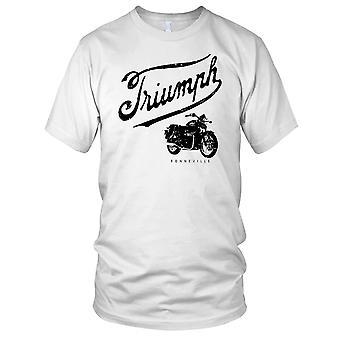 Triumph Bonny Boneville Classic Bike Mens T Shirt