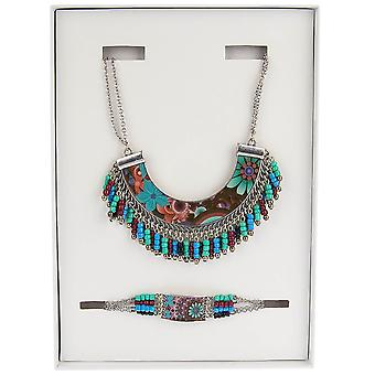 Desigual gift set Necklace + Bracelet PACK ALASKA 67G55F4/3007