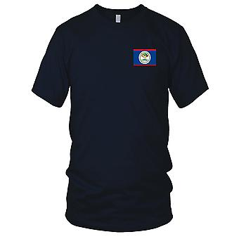 Belize land nationale Flag - broderet Logo - 100% bomuld T-Shirt børn T Shirt