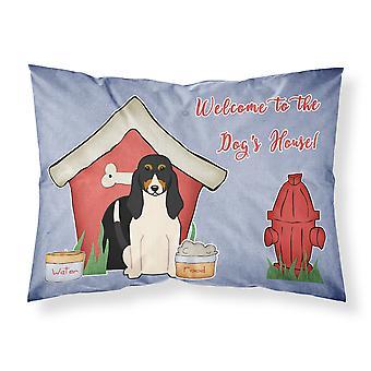 Hund Hund Haus Sammlung Schweizer Stoff Standard Kissenbezug