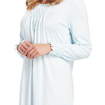 Feraud 3883038-10840 Frauen Kristallblau Baumwolle Nacht Kleid Loungewear Nachthemd