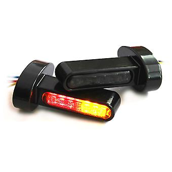 Iron optics motorcycle LED indicator Harley