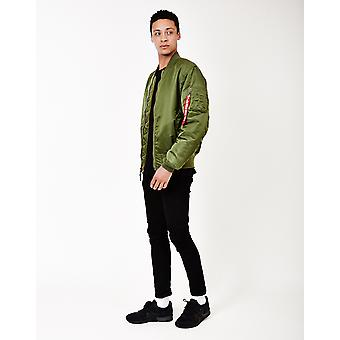 Alpha Industries MA1 classico Vintage Fit Bomber Giacca verde salvia