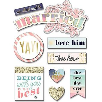 Soft Spoken Themed Embellishments-Married SS-1680