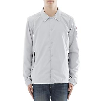 The north face men's T93C1NA0M grey polyester shirt