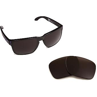 Best SEEK Polarized Replacement Lenses for Oakley HOLBROOK Black Purple Mirror