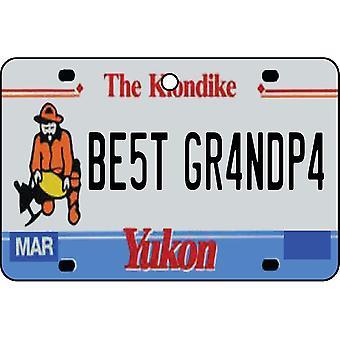 YUKON - Best Grandpa License Plate Car Air Freshener