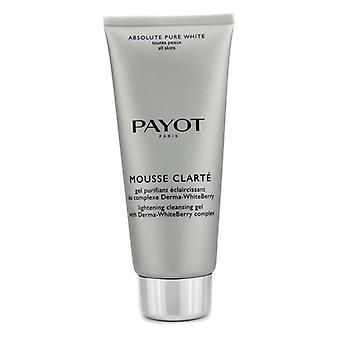Payot Absolute Pure White Mousse Clarte Lightening Cleansing Gel 200ml/6.7oz