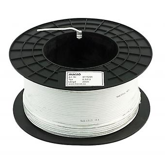 Macab coaxial cable on the Bobina 200 m