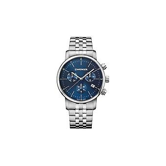 Wenger mens watch urban classic Chrono 01.1743.105