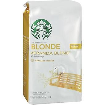 Starbucks Coffee Blonde Roast, Veranda Blend, Ground Coffee