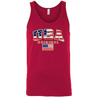 American Original USA Flag camisole chemise masculine