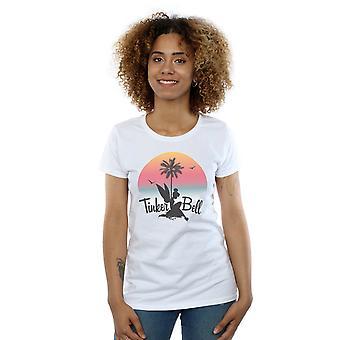 Disney kvinders Tinker Bell solnedgang T-Shirt