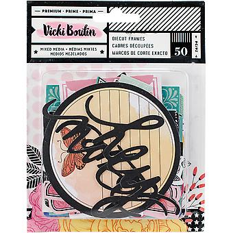 Vicki Boutin Ephemera Cardstock Die-Cuts 50/Pkg-All The Good Things Frames