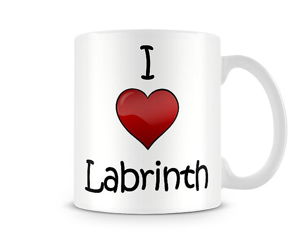 I Love Labrinth Printed Mug
