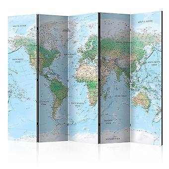 Paravento - World Map [Room Dividers]