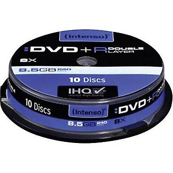 Blank DVD+R DL 8.5 GB Intenso 4311142 10 pc(s) Spindle